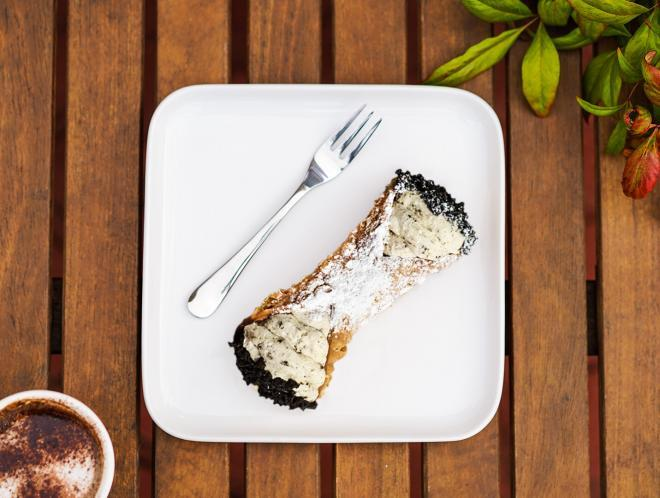 Large Cookies and Cream Cannoli