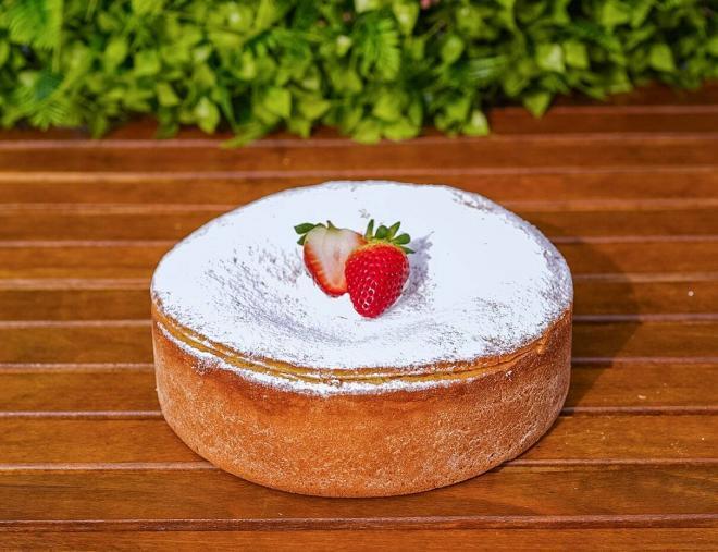 Baked Ricotta Cake 1